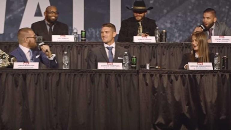 McGregor questionou 'Quem é este c******?' e teve resposta à altura