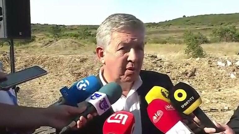 Fernando Tavares explica projeto do CAR do Benfica