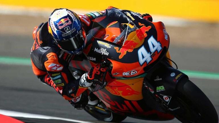 Moto2: Miguel Oliveira sobe ao pódio no GP de Aragão