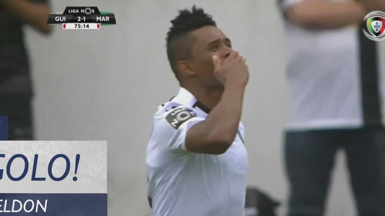 Heldon recolocou V. Guimarães na frente