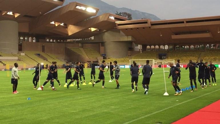 FC Porto trabalhou a todo o gás no Mónaco