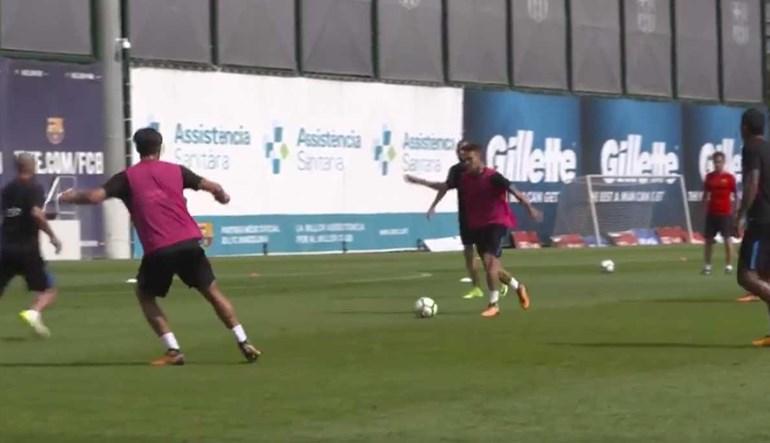 Denis Suárez está 'on fire' e o Barcelona faz questão de o mostrar