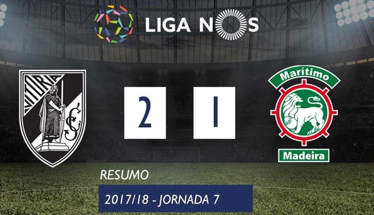 O resumo do V. Guimarães-Marítimo (2-1)
