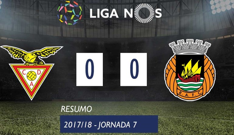 O resumo do Aves-Rio Ave (0-0)