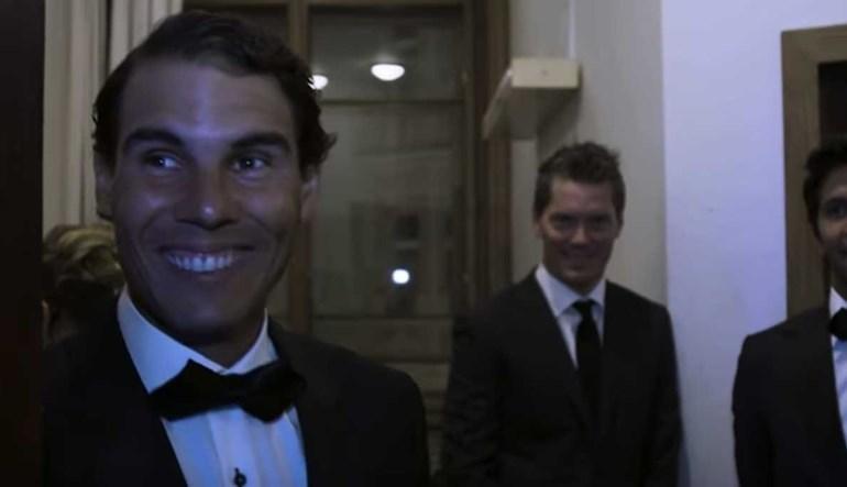 Nadal não estava à espera de ouvir isto de Federer