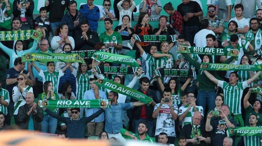 Rio Ave proíbe adereços do FC Porto nas bancadas reservada aos seus sócios