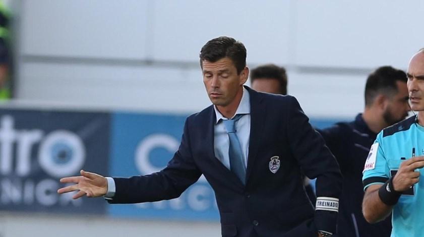 Nuno Manta quer manter exigência no jogo com o Portimonense