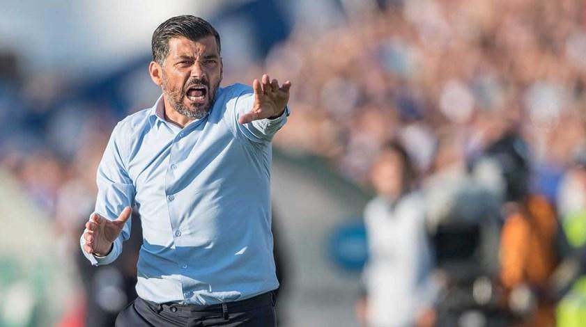 Sérgio Conceição: «Não vale a pena dar muito valor ao atraso de um dos rivais»