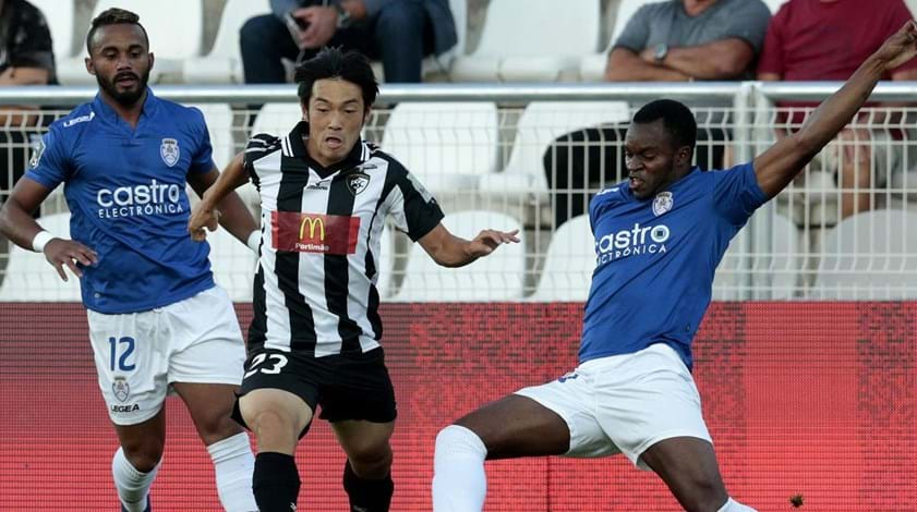 Portimonense-Feirense, 2-1