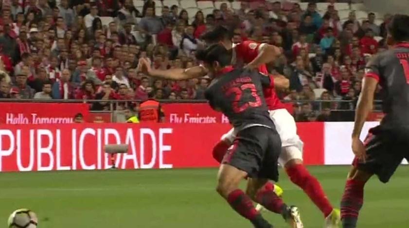 Os melhores momentos do Benfica-Sp. Braga (1-1)