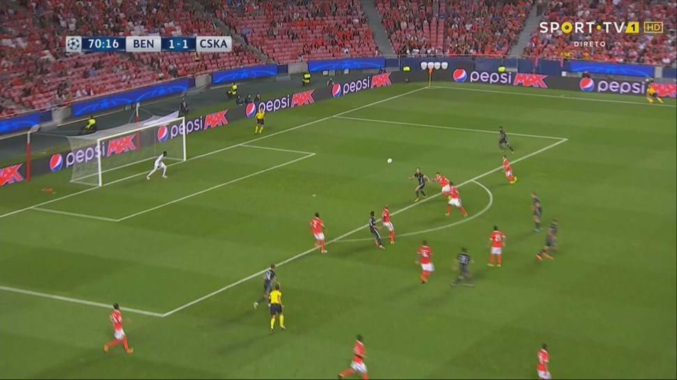 Zhamaletdinov leva Benfica ao desespero