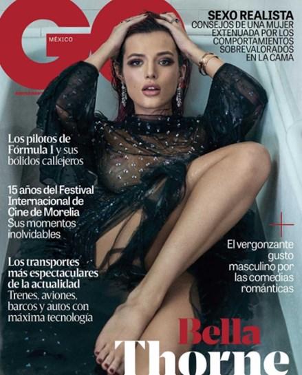 Bella Thorne posa completamente nua e sem photoshop, mas fãs questionam