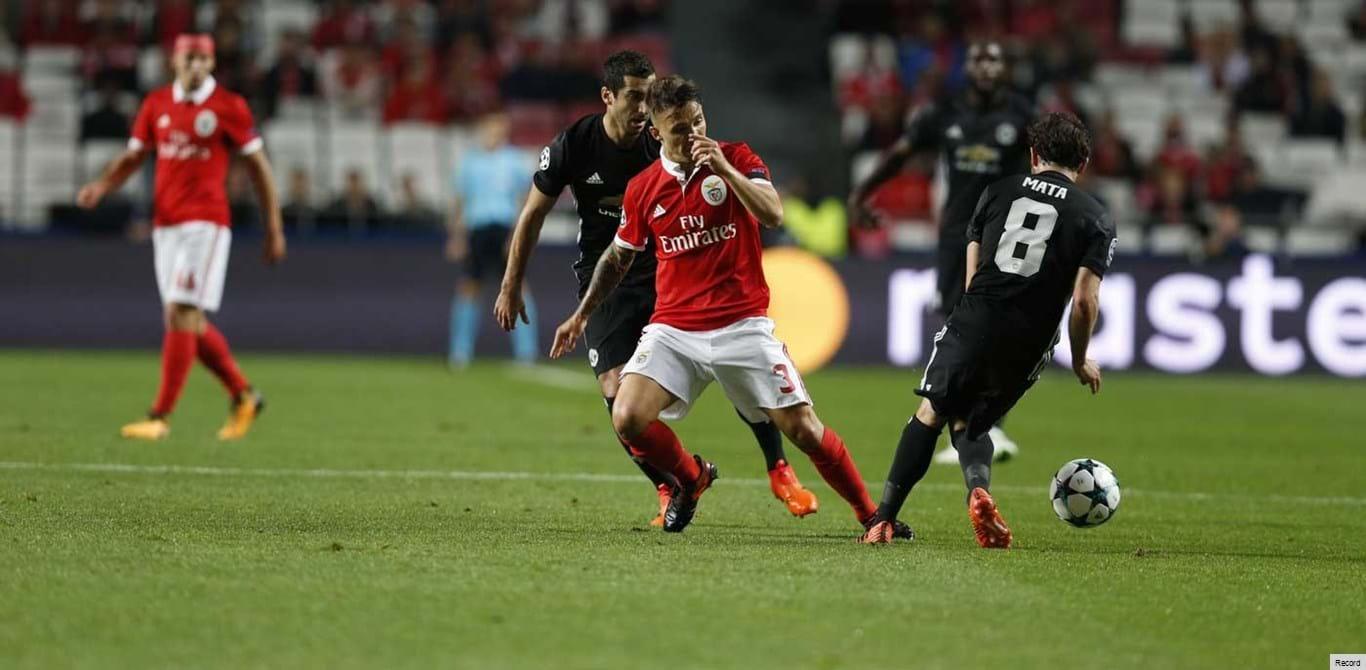 Benfica-Man. United, 0-0 (2.ª parte)