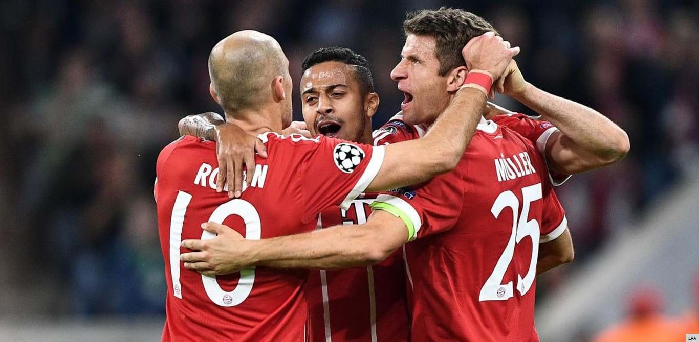 Grupo B: Bayern Munique triunfa e descola do Celtic