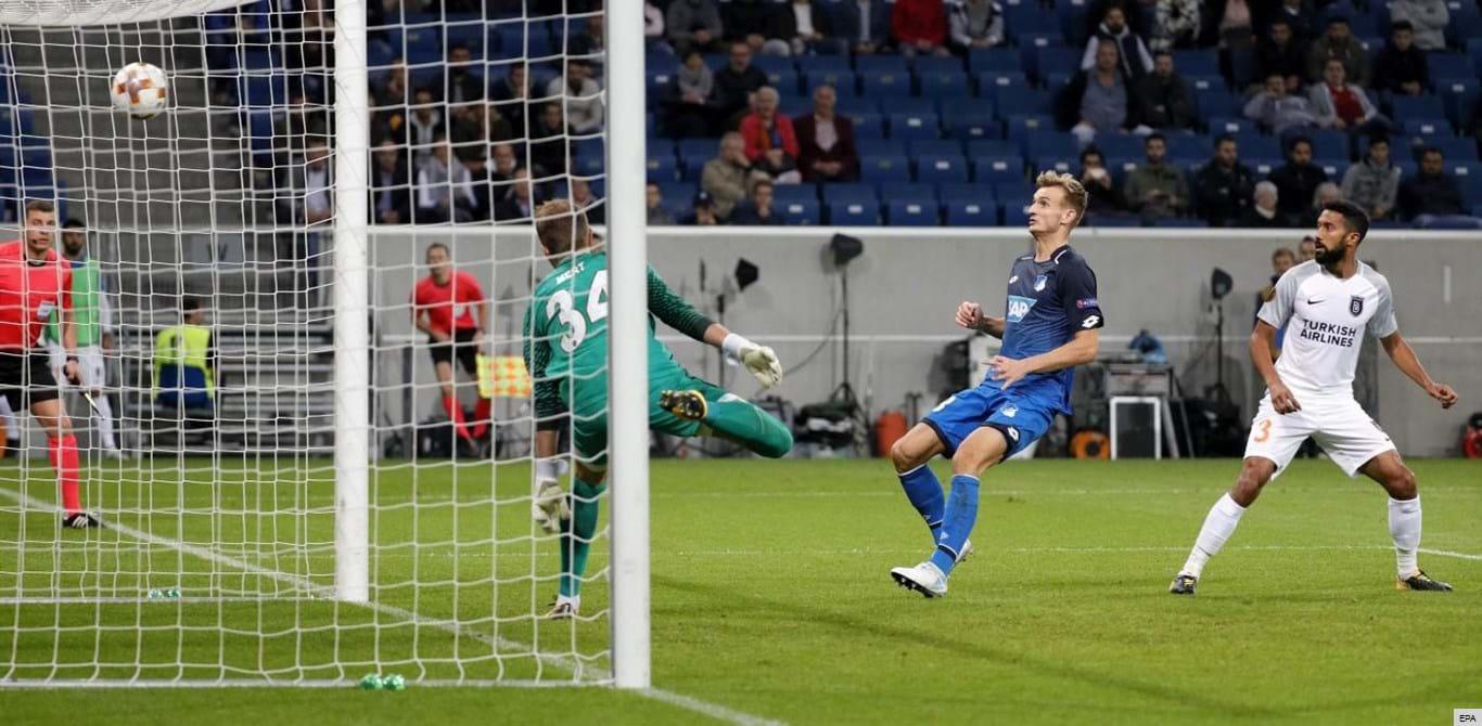 Grupo C: Hoffenheim soma primeira vitória