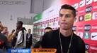 Ronaldo viu jornalista espanhol na Luz e... reagiu assim