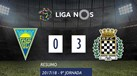 O resumo do Estoril-Boavista (0-3)