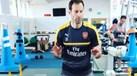 O alucinado treino de Petr Cech