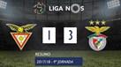 O resumo do Aves-Benfica (1-3)