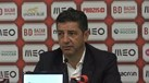 Rui Vitória: «Nuno Almeida fez uma boa arbitragem»