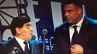 Maradona deu 'barraca' na entrega do prémio The Best e acabou salvo por Ronaldo