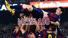 O que ainda não sabe sobre os 100 golos de Messi na UEFA