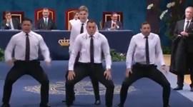 All Blacks surpreendem com 'haka' no Prémio Princesa das Astúrias