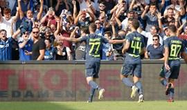 Inter vence no terreno do Benevento com bis de Brozovic