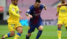 Liga diz que não existiam razões para adiar Barcelona-Las Palmas