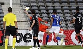 A crónica do Belenenses-V. Guimarães (1-0): Merlin Tandjigora tem mesmo magia