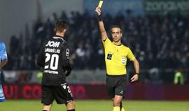 Jorge Sousa ganhou 9.839 euros em setembro: os salários dos árbitros ao detalhe