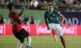 Herrera marca na vitória do México frente a Trindade e Tobago