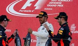 GP do Japão: Hamilton vence e embala para o título graças a novo mau resultado de Vettel