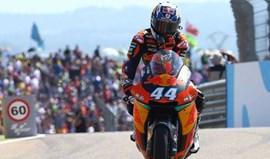 Moto2: Oliveira larga do 5.º lugar no GP do Japão