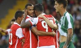 São Martinho-Sp. Braga, 2-3: Bracarenses com dificuldades inesperadas