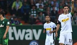 Mönchengladbach vence Werder Bremen e ascende ao 5.º