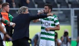 Bruno Fernandes: «Jorge Jesus está com 'fome' de vitórias»
