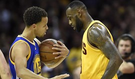 Curry e Lebron em novo duelo