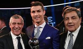 Ronaldo, Fernando Gomes e Fernando Santos distinguidos nos Prémios Bento Pessoa