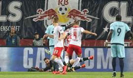A crónica do RB Leipzig-FC Porto, 3-2: Tremedeira desastrosa