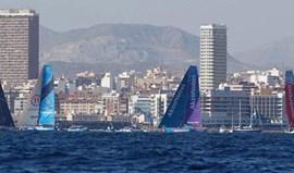 Etapa da Volvo Ocean Race entre Alicante e Lisboa com passagem em Porto Santo