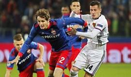 Grupo A: CSKA Moscovo-Basileia, em direto