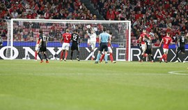 Benfica-Man. United, 0-1