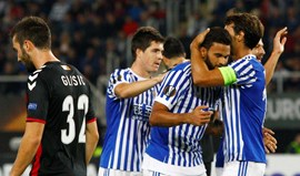 Willian José brilha com 'poker' pela Real Sociedad