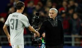 Matic: «Mourinho não é nada frio ou presunçoso»