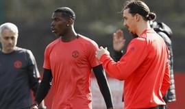 Mourinho sobre Ibrahimovic: «Acredito que regressará em 2017»