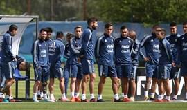 Acuña e Salvio nos convocados da Argentina