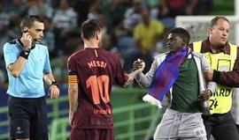 Sporting multado em 31 mil euros pela UEFA