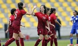 Sub-19: Portugal goleia e apura-se para Ronda de Elite do Europeu