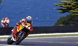 GP da Austrália: Oliveira larga do terceiro lugar na 'grelha' do Moto2